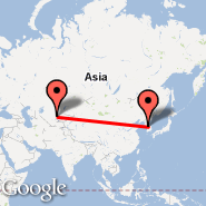Shimkent (CIT) - Seoul (Gimpo International, GMP)