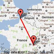 Chambery (Aix-l, CMF) - Calais (CQF)