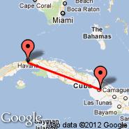 Camaguey (Ign Agramonte Intl, CMW) - Havana (Jose Marti Intl, HAV)