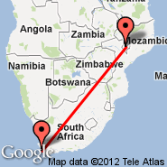 Cape Town (Cape Town International, CPT) - Blantyre (Chileka, BLZ)