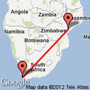 Cape Town (Cape Town International, CPT) - Inhaminga (IMG)