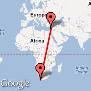 Cape Town (Cape Town International, CPT) - Larnaca (LCA)