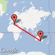 Catania (Fontanarossa, CTA) - Adelaide (Adelaide International Airport, ADL)