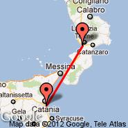 Catania (Fontanarossa, CTA) - Lamezia Terme (S Eufemia, SUF)