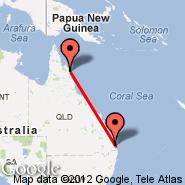 Cooktown (CTN) - Brisbane (Brisbane International, BNE)