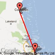 Cooktown (CTN) - Cairns (Cairns International Airport, CNS)