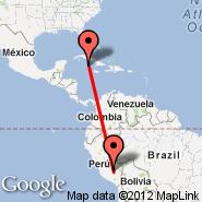 Cayman Brac (Gerrard-Smith, CYB) - Cuzco (Velazco Astete, CUZ)
