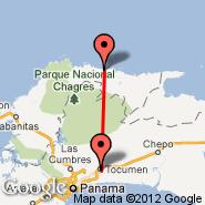 Corazon de Jesus (CZJ) - Panama City (Tocumen International, PTY)