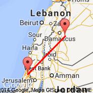 Damasco (International, DAM) - Tel Aviv (Ben Gurion Intl, TLV)