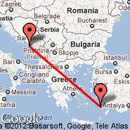 Dubrovnik (DBV) - Kos (Kos Island International Airport, KGS)