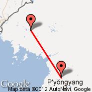Dandong (DDG) - Pjongjang (Sunan International, FNJ)