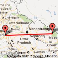 Delhi (Indira Gandhi Intl, DEL) - Syangboche (SYH)