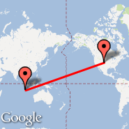 Denver (Denver International, DEN) - Isole Cocos (Cocos (Keeling) Islands, CCK)