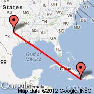 Dallas (Dallas/Fort Worth International, DFW) - Les Cayes (CYA)