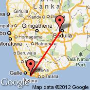 Dickwella (Mawella Lagoon, DIW) - Koggala (KCT)