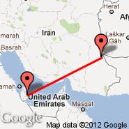 Doha (Doha International Airport, DOH) - Zahedan (Zahedan International Airport, ZAH)