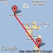 Dominica (Melville Hall, DOM) - Montserrat (MNI)