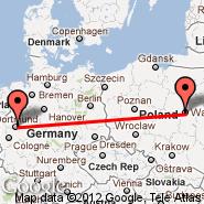 Dortmund (Wickede, DTM) - Varšava (Frederic Chopin, WAW)