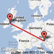 Dublin (Dublin International Airport, DUB) - Klagenfurt (Alpe Adria, KLU)