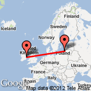 Dublin (Dublin International Airport, DUB) - Palanga/Klaipeda (Palanga International, PLQ)