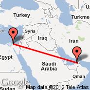 Dubai (Dubai International Airport, DXB) - Port Said (PSD)