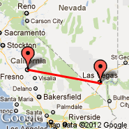 Fresno (Fresno Air Terminal Airport, FAT) - Las Vegas (Mc Carran Intl, LAS)