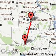 Lubumbashi (Luano, FBM) - Livingstone (LVI)