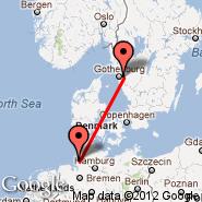 Cuxhaven (Cuxhaven/Nordholz, FCN) - Goteborg (Landvetter, GOT)