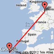 Madeira (Madeira international airport, FNC) - Brussels (Brussels Airport, BRU)