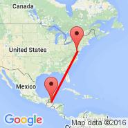 Flores (Santa Elena, FRS) - Baltimore (Baltimore/Washington International Thurgood Marshall, BWI)