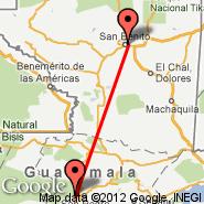 Flores (Santa Elena, FRS) - Coban (CBV)