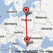 Gdansk (Lech Walesa, GDN) - Podgorica (Golubovci, TGD)