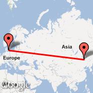 Spokane (Spokane International, GEG) - Kopenhagen (Kastrup, CPH)