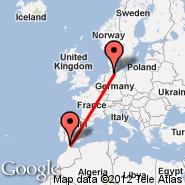 Gibraltar (North Front, GIB) - Hamburg (Hamburg Airport, HAM)