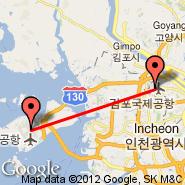 Seoul (Gimpo International, GMP) - Seoul (Incheon International, ICN)