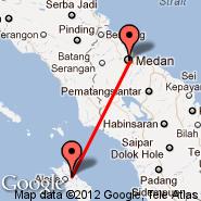 Gunungsitoli/Nias (Binaka, GNS) - Medan (Polonia, MES)