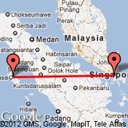 Gunungsitoli/Nias (Binaka, GNS) - Singapur (Changi, SIN)