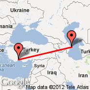 Baku (Heydar Aliyev International, GYD) - Antalya (AYT)