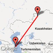 Baku (Heydar Aliyev International, GYD) - Kostanay (KSN)