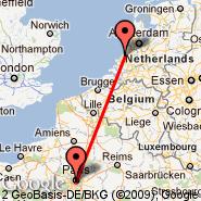 The Hague (Metropolitan Area, HAG) - Paris (Metropolitan Area, PAR)