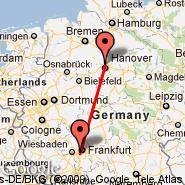 Hannover (Hanover Arpt, HAJ) - Frankfurt (Frankfurt International Airport, FRA)
