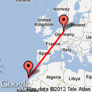 Hannover (Hanover Arpt, HAJ) - Gran Canaria (Gran Canaria International (Gando Airport), LPA)