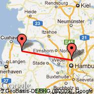 Hamburg (Hamburg Airport, HAM) - Bremerhaven (BRV)