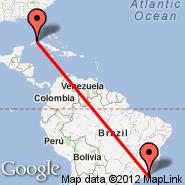 Havana (Jose Marti Intl, HAV) - Rio de Janeiro (Metropolitan Area, RIO)