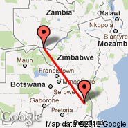 Hoedspruit (Hoedspruit Airport, HDS) - Livingstone (LVI)
