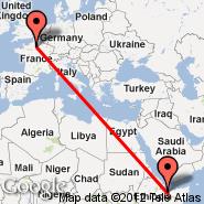Hargeisa (Egal International Airport, HGA) - Pariz (Metropolitan Area, PAR)