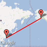 Hong Kong (Hong Kong International, HKG) - Anchorage (Ted Stevens Anchorage International Airport, ANC)