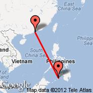 Hong Kong (Hong Kong International, HKG) - Zamboanga (Zamboanga International, ZAM)