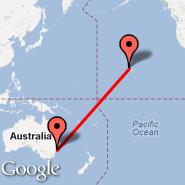 Honolulu/Oahu (Honolulu International, HNL) - Gosford (GOS)