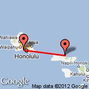 Honolulu/Oahu (Honolulu International, HNL) - Kalaupapa/Molokai (Kalaupapa, LUP)